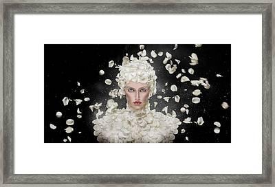 Spring Framed Print by Hosein Shirvani