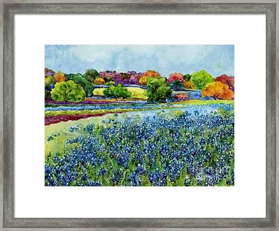 Spring Impressions Framed Print by Hailey E Herrera