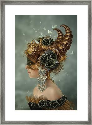 Spring Masquerade Framed Print by Cassiopeia Art