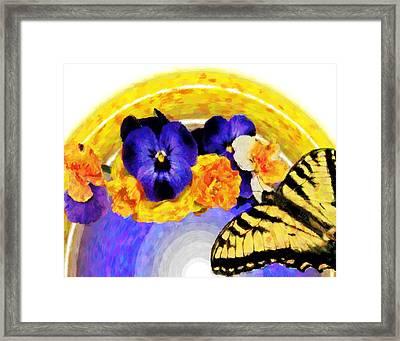 Spring Rainbow Framed Print by Susan Leggett