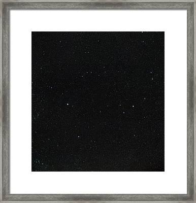 Spring Stars Without Light Pollution Framed Print by Eckhard Slawik