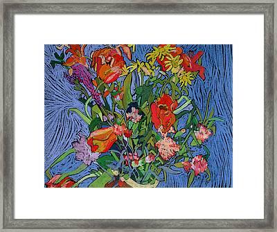 Spring Symphony Framed Print by Frances Treanor