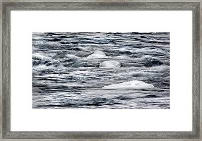 Spring Thaw Framed Print by Bill Wakeley