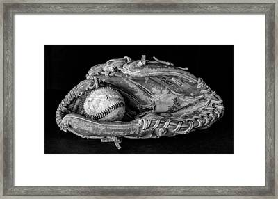 Spring Training Framed Print by Jeff Burton