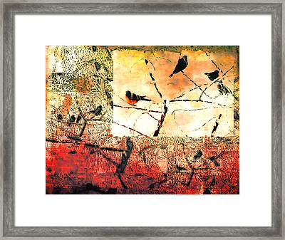Spring's Coming Framed Print by Kathy Bassett