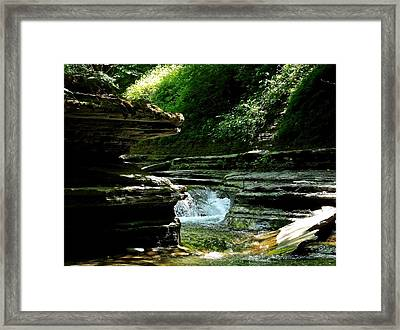 Springs Of Living Water Framed Print by Christian Mattison