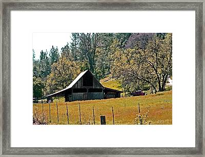 Springtime In Volcano California Framed Print by Joseph Coulombe