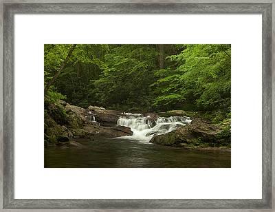 Springtime Rapids Framed Print by Andrew Soundarajan