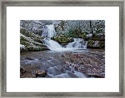 Spruce Flats Falls II Framed Print by Douglas Stucky