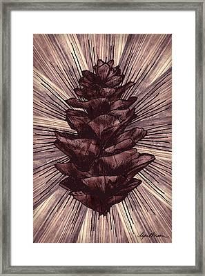 Spruce I Framed Print by April Moen