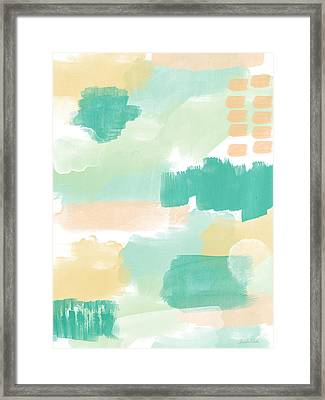 Spumoni- Abstract Painting Framed Print by Linda Woods