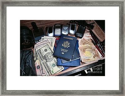 Spy Games Framed Print by Olivier Le Queinec