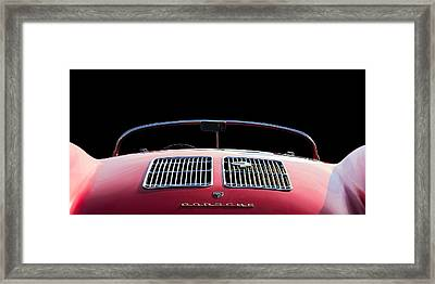 Spyder Red Framed Print by Douglas Pittman