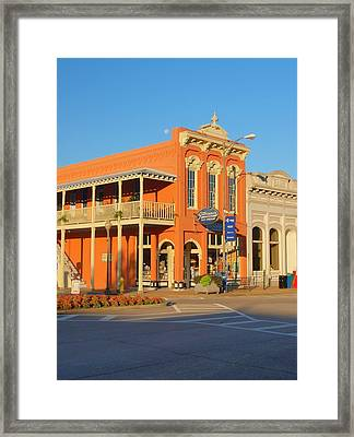 Square Books Oxford Mississippi Framed Print by Joshua House