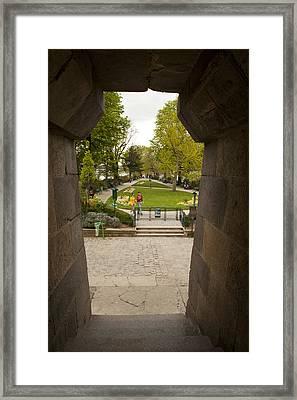 Square Du Vert-galant 1 Framed Print by Art Ferrier