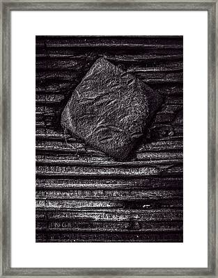 Square Head Framed Print by Bob Orsillo
