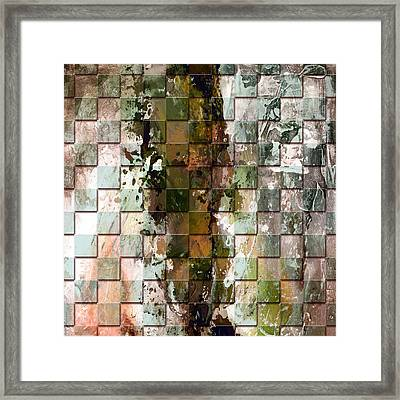 Square Mania - Abstract 09 Framed Print by Emerico Imre Toth