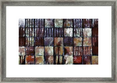 Squared Up 1 Framed Print by Angelina Vick
