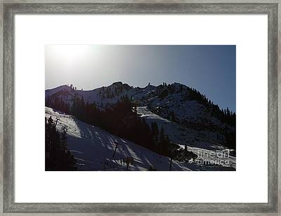 Squaw Valley Usa Ski Slopes 5d27656 Framed Print by Wingsdomain Art and Photography