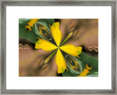 Squeeze Framed Print by Rosalie Scanlon
