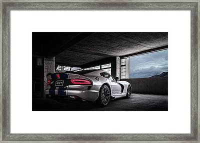Srt Viper Framed Print by Douglas Pittman