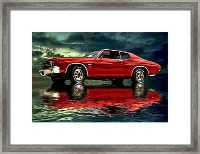 Chevelle 454 Framed Print by Steven Agius