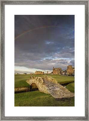St Andrews Bridge Framed Print by Chris Frost