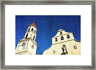 St. Augustine Florida By Sharon Cummings Framed Print by Sharon Cummings