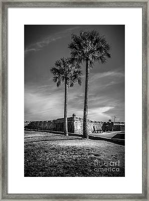 St. Augustine Fort Framed Print by Marvin Spates