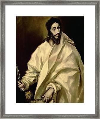 St Bartholomew Framed Print by Celestial Images