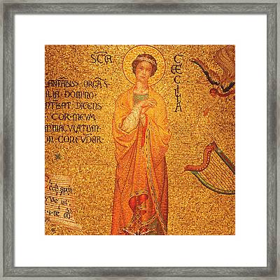 St Cecilia  Framed Print by Philip Ralley