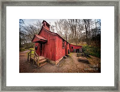St Chads Tin Tabernacle Framed Print by Adrian Evans