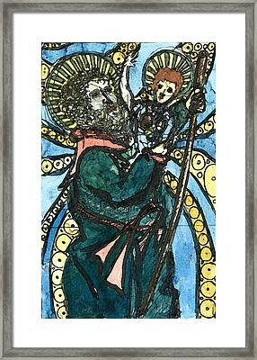 St. Christopher 8 Framed Print by Marko Jezernik