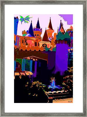 St George And The Dragon Framed Print by CHAZ Daugherty