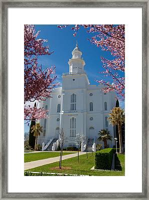 St George Temple 5 Framed Print by Alan Nix