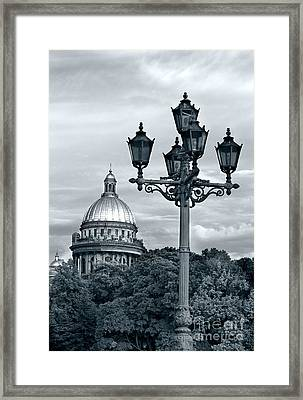 St Isaac Cathedral Framed Print by Elena Nosyreva