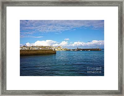 St Ives Cornwall Framed Print by Terri Waters