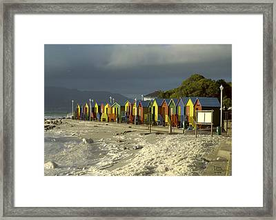St James Beach Framed Print by Tom Hudson
