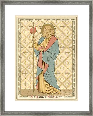 St James The Great Framed Print by English School