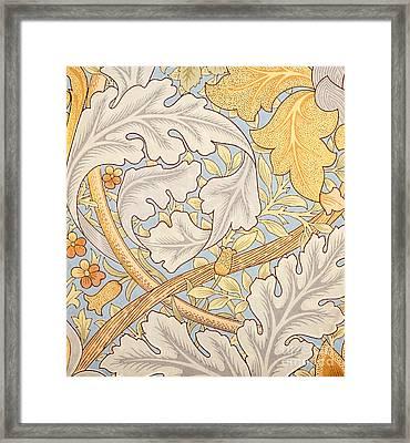 St James Wallpaper Design Framed Print by William Morris