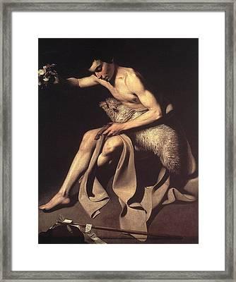 St John The Baptist Framed Print by Celestial Images