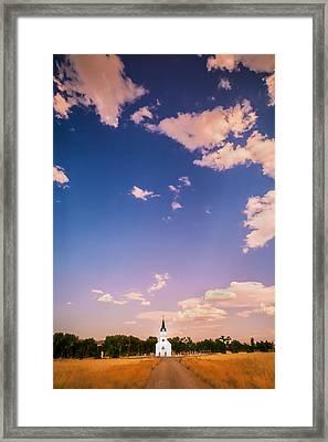St John The Evangelist Catholic Church   Framed Print by Rich Franco