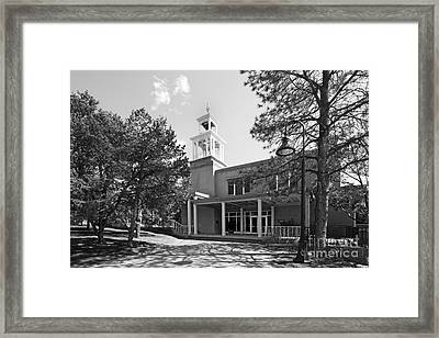 St. John's College Santa Fe Weigle Hall Framed Print by University Icons