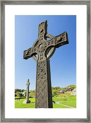 St John's Cross Framed Print by Ashley Cooper