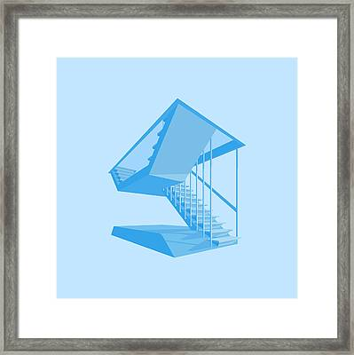 St John's Stairs Framed Print by Peter Cassidy
