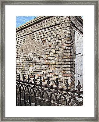 St Louis Cemetery No. 1 Framed Print by Beth Vincent