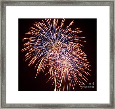 St Louis Fireworks Framed Print by Philip Pound