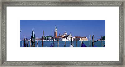 St. Maria Della Salute Venice Italy Framed Print by Panoramic Images