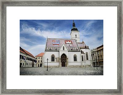 St. Mark's Church Framed Print by Jelena Jovanovic