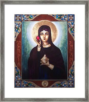 St. Mary Magdalene  Framed Print by Fr Barney Deane